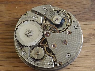 Quality Antique 17 Jewels Pocket Watch Movement