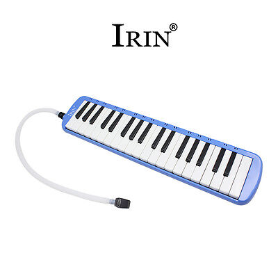 37 Piano Keys Melodica Musical Instrument for Beginners w/ Bag Blue Color
