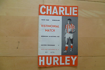 Charlie Hurley Testimonial 1967 v International XI