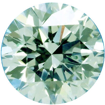 0.97ct VVS1/6.40 mm GENUINE ICE WHITE COLOR ROUND LOOSE REAL MOISSANITE 4 RING