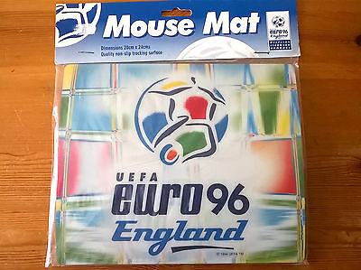 UEFA EURO 96 England Official Licensed Mouse Mat Product *BN*