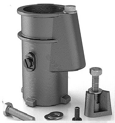 Perma Cast 4-Inch Swimming Pool Deck Anchor Socket Aluminum - PS-4019-C (2 Pack)