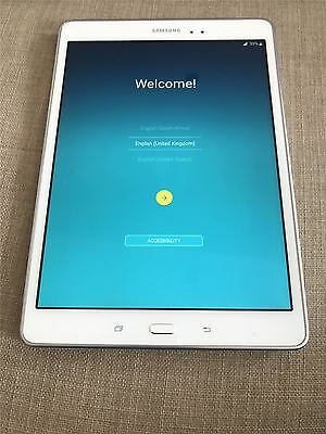 Samsung Galaxy Tab A, Sm-P555, White, 16Gb, Wifi And 3G, Android 5.0.2 Tablet