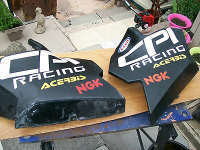 cpi gtr 50   bottom half fairings in good condition free uk postage