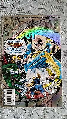 Fantastic Four  No. 398  RAINBOW FOIL COVER  MAR 1995 (MARVEL)