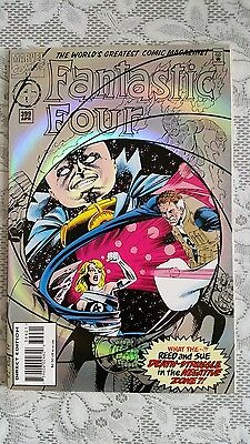 Fantastic Four  No. 399  RAINBOW FOIL COVER  APR 1995 (MARVEL)
