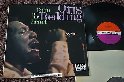 OTIS REDDING Pain In My Heart (Atlantic UK Original Mono LP 1967) A1/ B1. Nice!