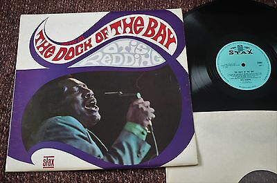 OTIS REDDING The Dock Of The Bay (Stax UK Original Mono LP 1967) A1/ B1. EX