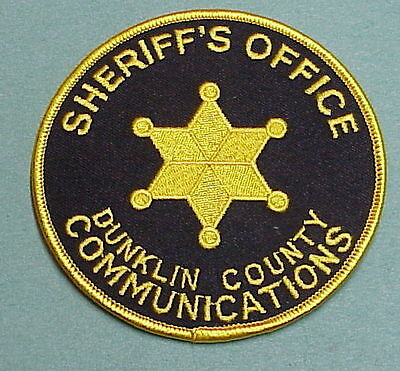 Dunklin County  Missouri  Communications Sheriff / Police Patch  Free Shipping!!