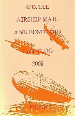 Stamps ~ Airship Mail Graf Zeppelin Luftschiff Lz Postcards Aviation Philately