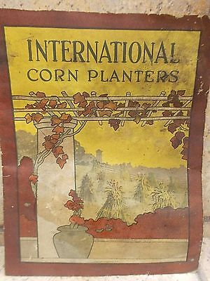 1910 era  INTERNATIONAL CORN PLANTERS - INTERNATIONAL HARVESTER COMPANY catalog