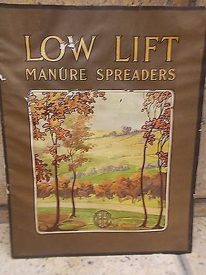 1910 era LOW LIFT MANURE SPREADERS - INTERNATIONAL HARVESTER COMPANY catalog