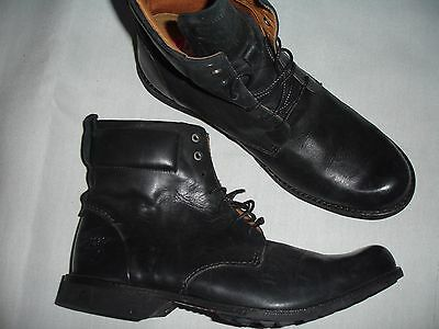 Timberland Men Boot Shoe Size 11 M W Black Leather New Boots Shoe Shoes 84525