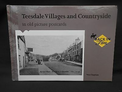 ** TEESDALE VILLAGES & COUNTRYSIDE in old picture p/cards ** Vera Chapman (1997)