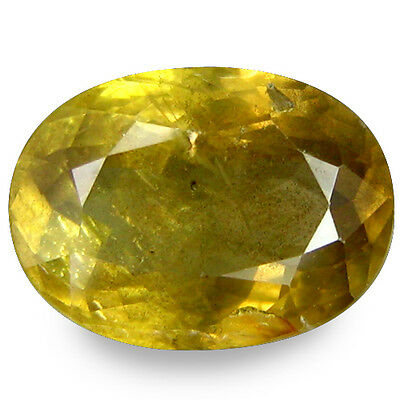 2.010Cts   Sublime Top Luster Yellow Natural Sapphire Oval Gemstones