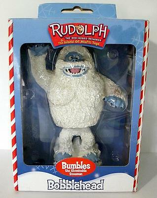 2001 Toysite Rudolph The Island Of Misfits Bumbles Abominable Snowman Bobblehead