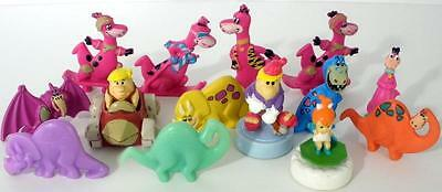 Nice Lot Of Assorted Collectible Flintstones Cereal And Fast Food Figures