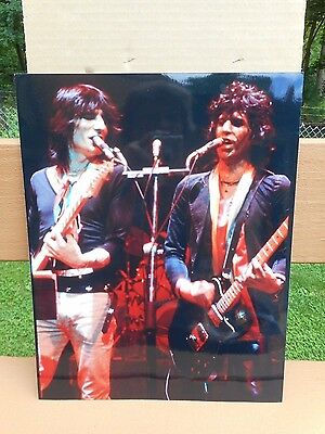 #6 Real Color Photo's Of The Rolling Stones Keith Richards Concert 14x11
