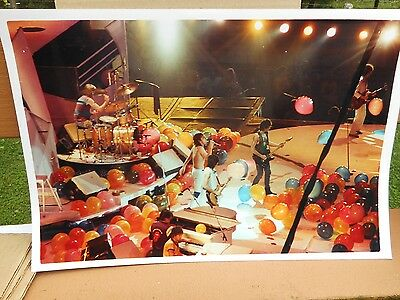 #2 Real Color Photo's Of The Rolling Stones Concert 18x12