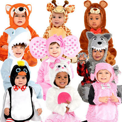 Animal Toddler Fancy Dress Wild Safari Zoo Infants Baby Costume 0-24 Months New