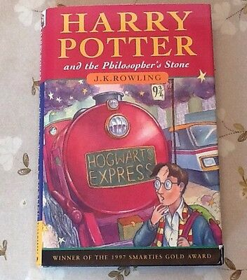 Harry Potter PHILOSOPHER'S STONE, RARE FIRST EDITION BOOK Bloomsbury 1st/15th HB