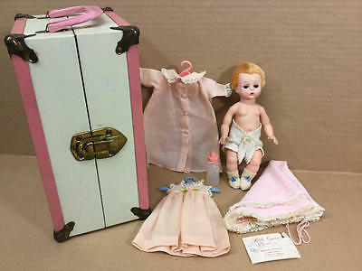 Madame Alexander Vintage Little Genius Doll With Tagged Outfit