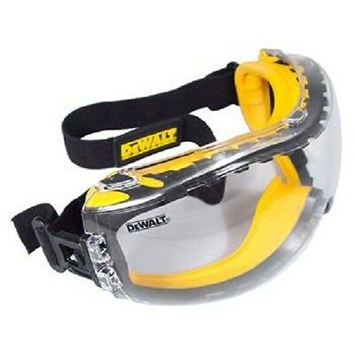 DPG82-11 - Dewalt Concealer Clear Anti-Fog Dual Mold Safety Goggle