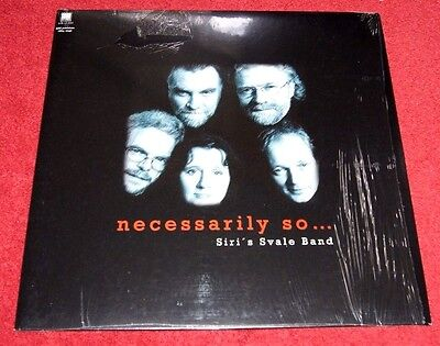 """SIRI'S SAVALE BAND """"Necessarily So ..."""" SONOR RECORDS LP 180g 2007 New/Sealed!"""