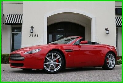 2008 Aston Martin Vantage Base Convertible 2-Door 2008 Used Certified 4.3L V8 32V Manual RWD Premium