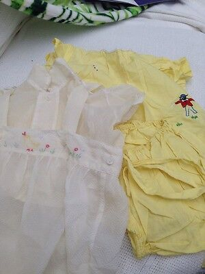 Vintage Baby Clothes Pantaloon Set