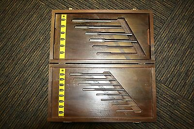 Lavallee & Ide Straight Reamer Set Incomplete