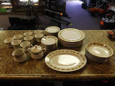 Hci Fine China Woodland Japan Dinnerware - Plates, Saucers, Bowls Coffee Cups