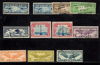 USA - Early Airmail collection - MM/Used