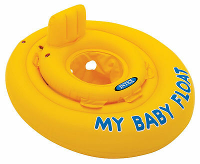 UK Intex My Baby Float Seat Swimming Aid Infant Kids Pool Inflatable Ring Chair