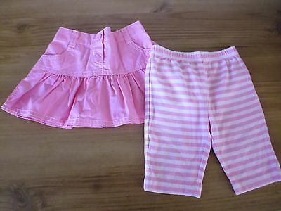 Mothercare Pink Skirt & Shorts Set..Age 3-6 Months