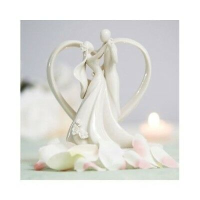 Heart Arch Bride and Groom Wedding Cake Toppers Topper Top