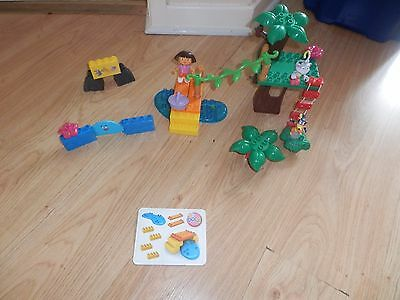 Dora The Explorer Mega Bloks Collection Inc Dora Swiper Boots 3 Figures