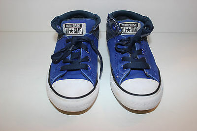 bfcc117b32d4 CONVERSE ALL STAR Chuck Taylor Blue Low Tops Childrens Size 1 Shoes ...