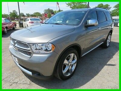 2012 Dodge Durango Citadel 2012 Citadel Used 3.6L V6 24V Automatic AWD SUV clean clear title we finance one