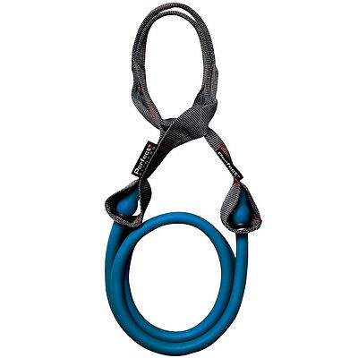 Perfect Fitness Attached Loop Band - Medium Heavy Resistance (20 lbs) - Blue