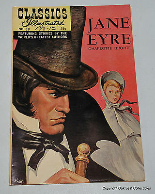 Classics Illustrated 39 HRN 166 VF Jane Eyre New Cover Gilberton 1968