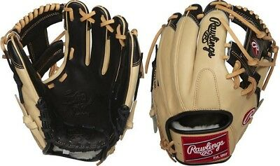 "Rawlings PRO204-2BCC 11.5"" Pro Label Heart of Hide Pro Preferred Baseball Glove"