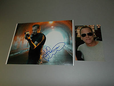 Kiefer Sutherland 24  signed signiert autograph Autogramm 20x28 Foto in person