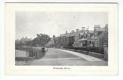 Children At Waterside Irvine Ayrshire Early 1900's Davidson's Silver Tone Series