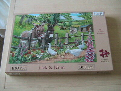 House of Puzzles 250 BIG piece jigsaw puzzle.Jack and Jenny.