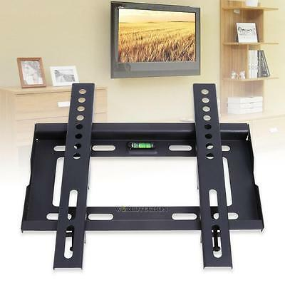 Slim Flat TV LCD LED Universal VESA Wall Mount Bracket for Size 14'' - 32'' NEW