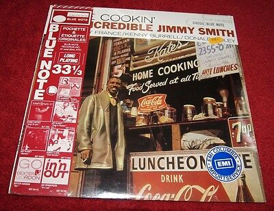 Jimmy Smith Home Cookin' Blue Note Bst 84050 Lp Pathé Marconi New & Sealed!