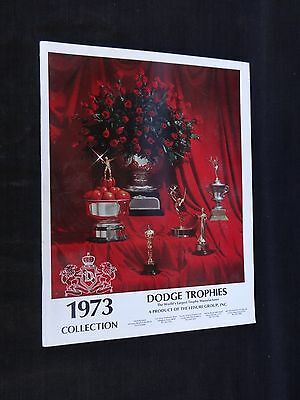 "1973 Dodge Trophies Catalog ""The 1973 Collection of Fine Trophies & Awards"" Nice"