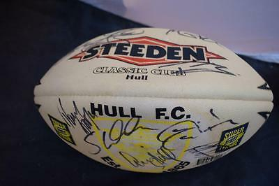 Signed Hull Fc Rugby League Ball