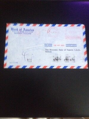 Bank Of America-Thailand Cover-Kuwait Slogan Int. Year Compact Racism-franking